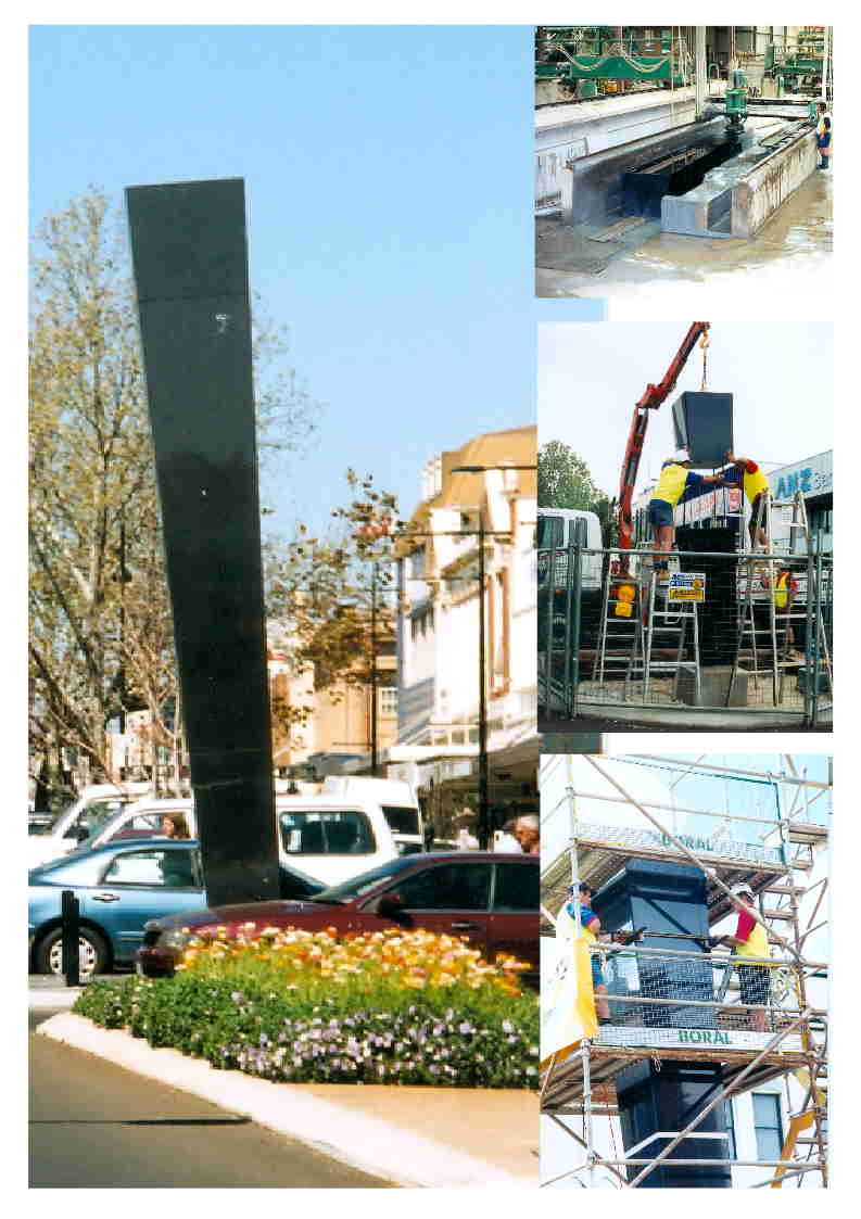 Toowoomba City's Obelisks