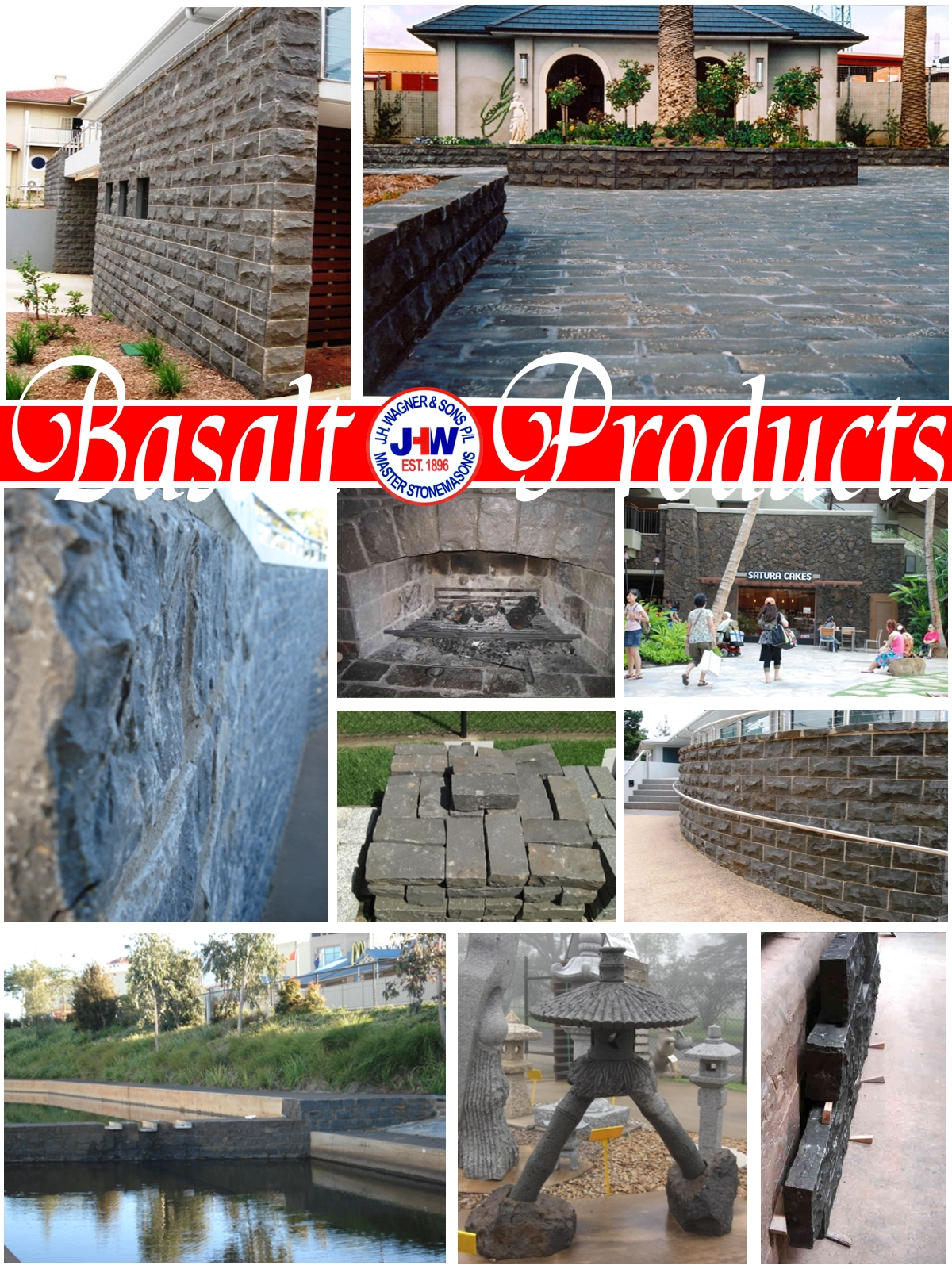 Basalt Products by J.H. Wagner & Sons