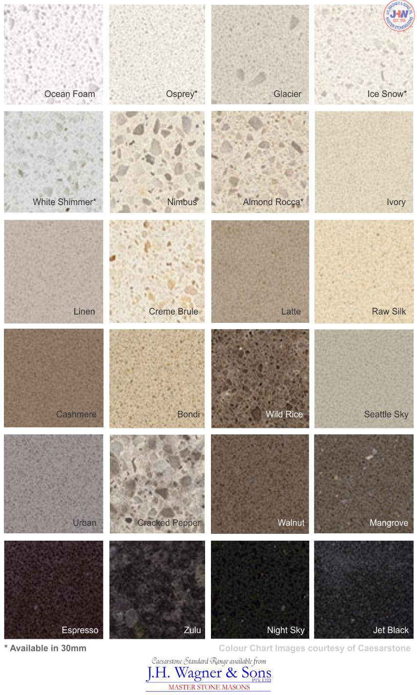 Granite Colours For Kitchen Benchtops Similiar Caesarstone Colours Keywords
