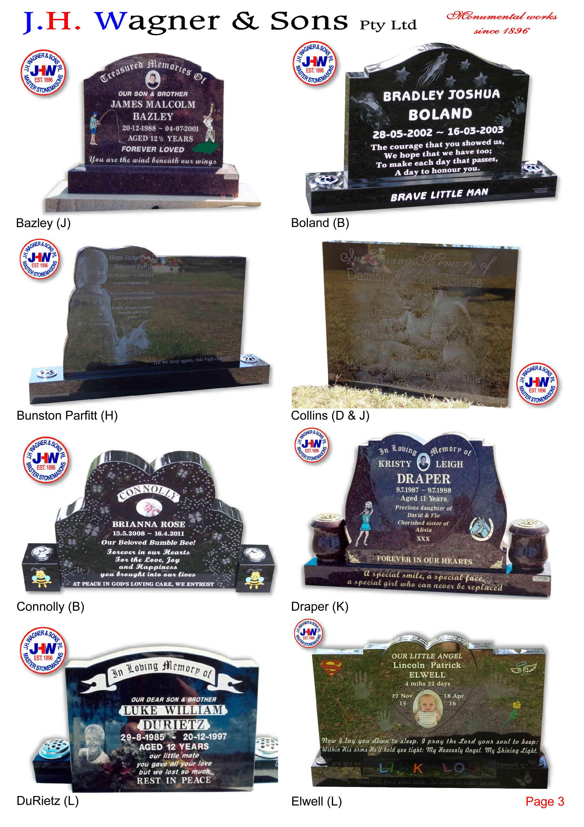 Children S Memorials Page 4
