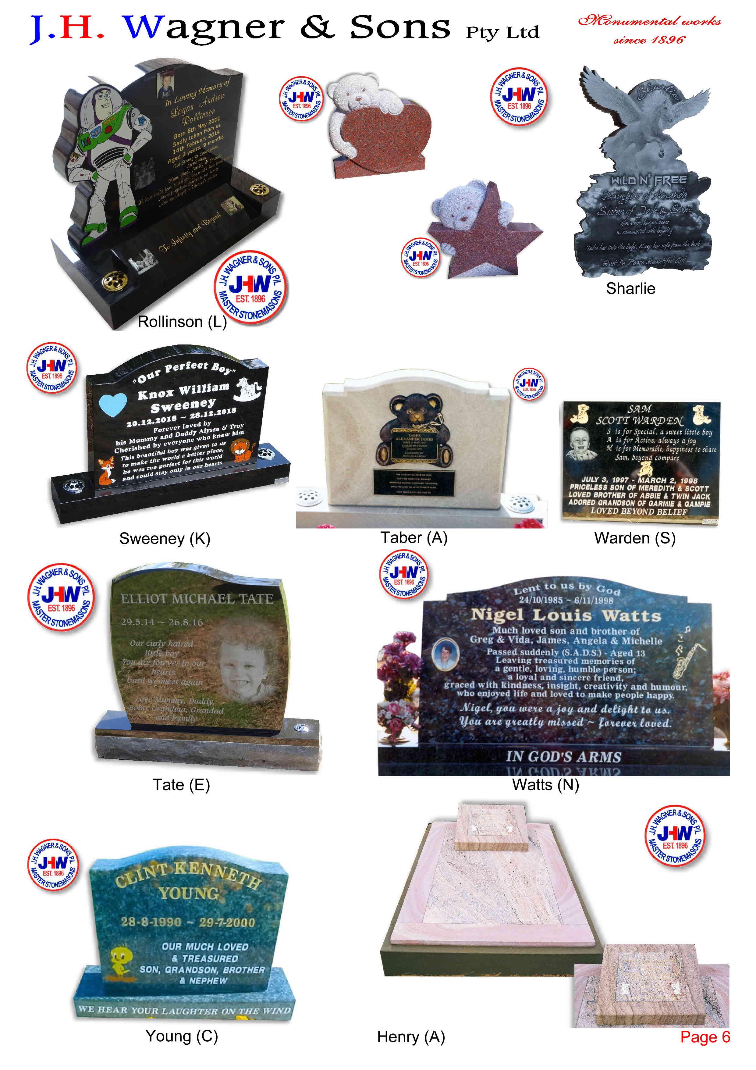 Children S Memorials Page 7