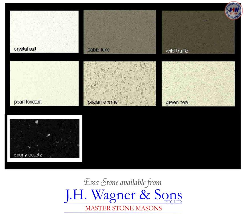 Essa Stone engineered stone available from J.H. Wagner & Sons.