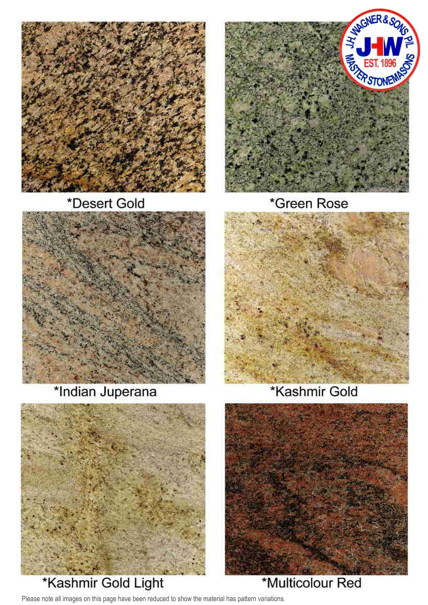 Polished granite page 6 granite colour chart from jh wagner sons page 7 nvjuhfo Choice Image