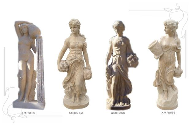 Marble Statues by J.H. Wagner & Sons