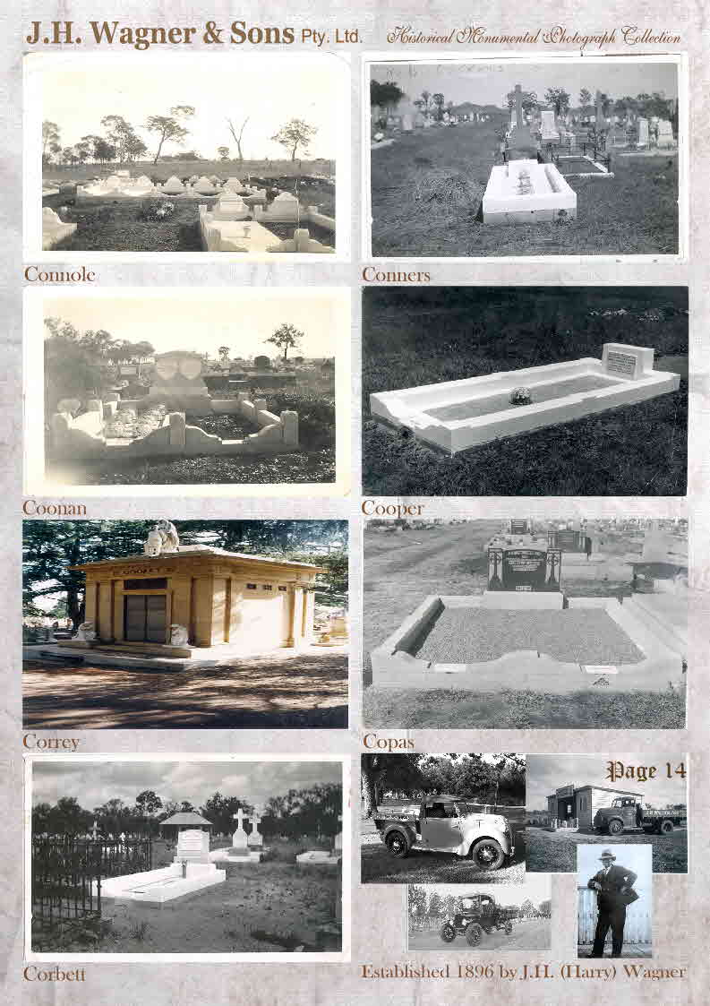 Historical Photos of graves page 14.