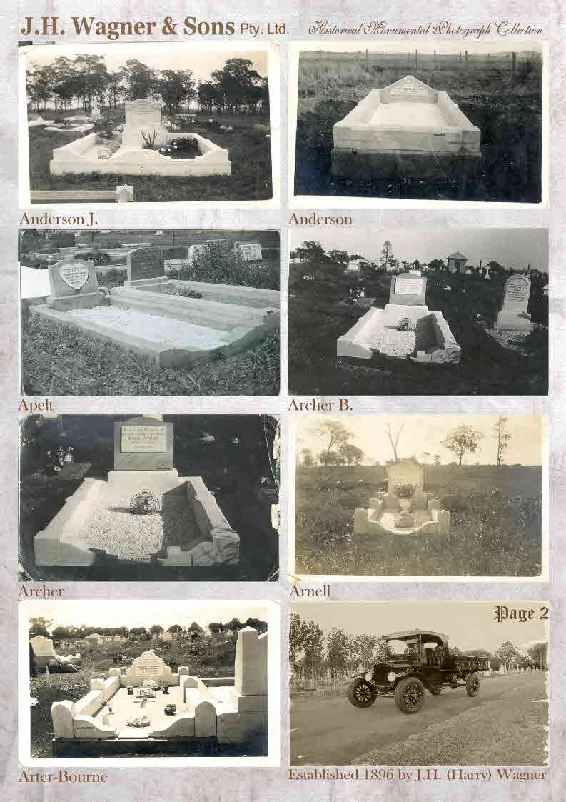 Historical Monument Photographs from J.H. Wagner & Sons Page 2