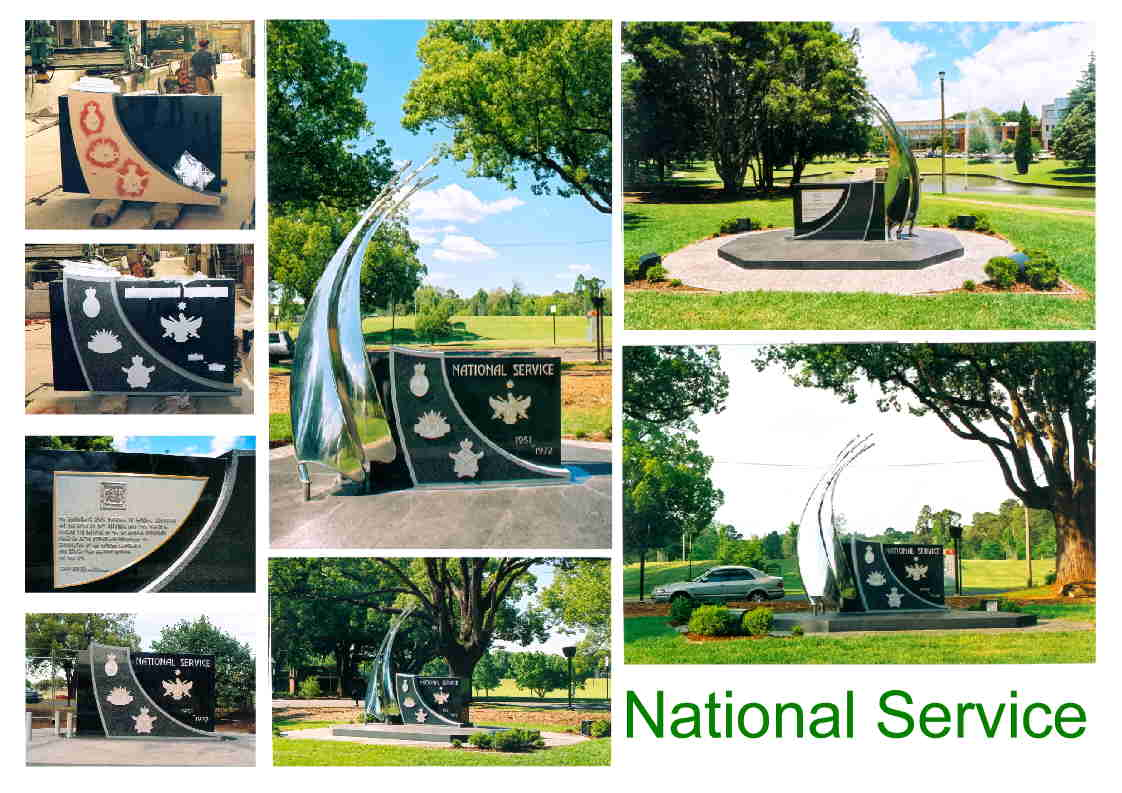National Service Memorial Toowoomba